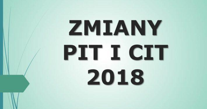 Zmiany 2018