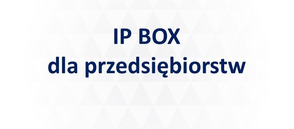 IP Box przedsiębiorst strona