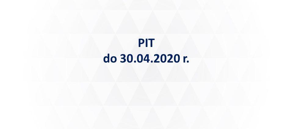 PIT 2020